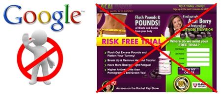 Google Punishing Diet Affiliate Sites?
